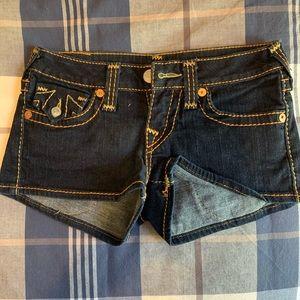 True religion Shorts Sz 25